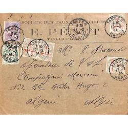 TANGER MAROC 1914 pour l'Algérie