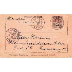TANGER MAROC 1901