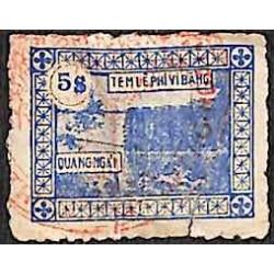 Quang Ngai timbre fiscal...