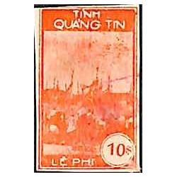 Quang Tin timbre fiscal