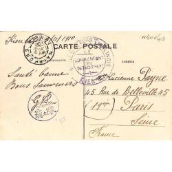 1910 - 4 E REGT TEURS...