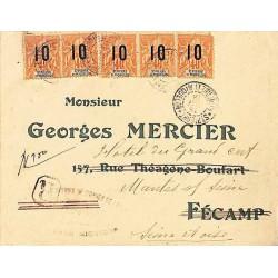 1918 Lettre pour la France...