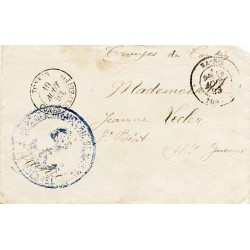 1893 Lettre Cachet TONKIN CORPS EXPEDITre
