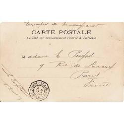 1901 Timbre à date octogonal CORRces D'ARMEES  DIEGO SUAREZ