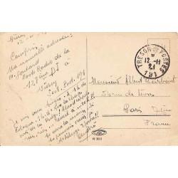 1921 TRESOR ET POSTES * 191*