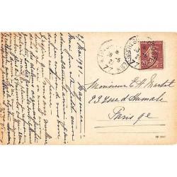 1921 TRESOR ET POSTES * 77 *  sur 20 c Semeuse