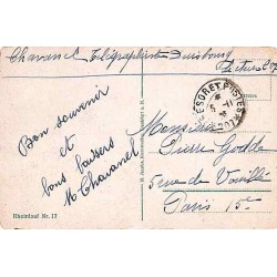 1925 TRESOR ET POSTES * 207 *
