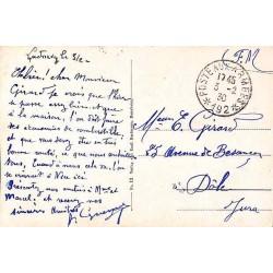1930 POSTE AUX ARMEES * 192 *