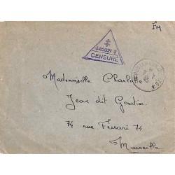 Cachet Croix de Lorraine / 82021 / CENSURE