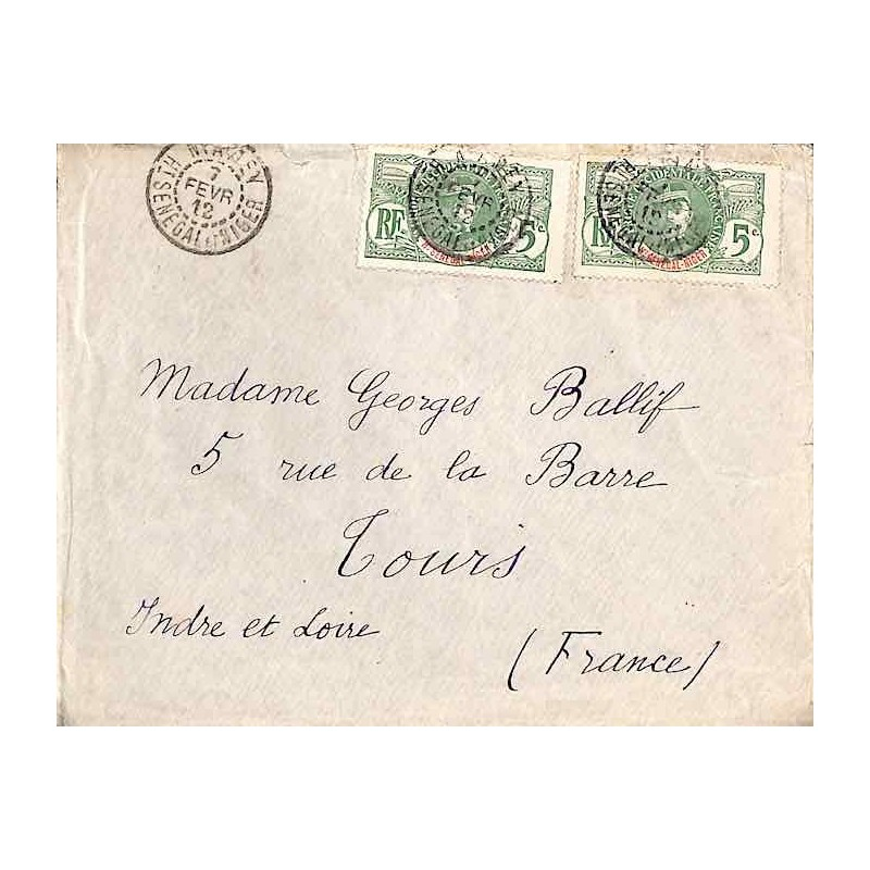 NIAMEY Ht SENEGAL ET NIGER 1912