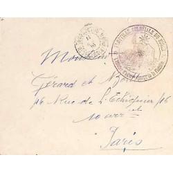 1916 lettre de TOMBOUCTOU Cachet FLOTTILLE COLONIALE DU NIGER