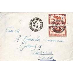 1932 Lettre avion pour la Suisse