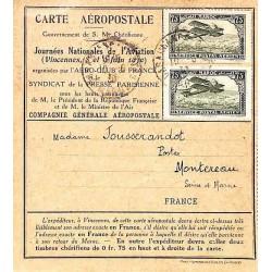 1930 Carte Aéropostale à 1...