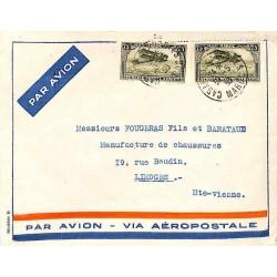1930 Enveloppe avion Aéropostale modèle B