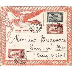 1925 Enveloppe Bertou Tabacs Alhambra CASABLANCA-POSTES  MAROC