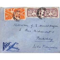 1947 Lettre avion pour...