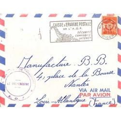 1958 Lettre FM Cachet...