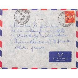 1958 Lettre FM Oblitération...