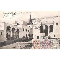 TANGER MAROC 1909 Affranchissement tricolore