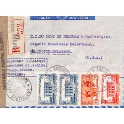 1941 Lettre à 9 f. pour les...