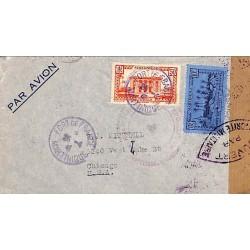 1941 Lettre à 10 f. 50 pour...
