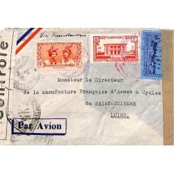 1941 Lettre à 16 f. pour la...
