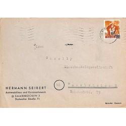 Lettre locale 20-12-1947...