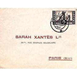 Lettre pour la France 1954...