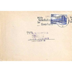 Lettre locale 1955...