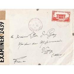 1941 Lettre à 1 f. pour la...