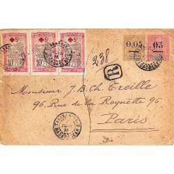 1915 Lettre recommandée à...