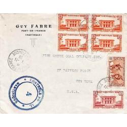 1939 Lettre à 2 f. 25 pour...