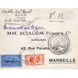 1939 Lettre à 15 f. pour la...