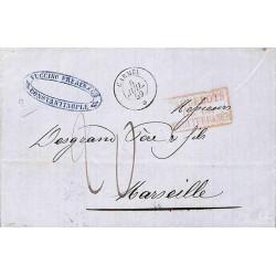 CARMEL * 1859 et PAQUEBOTS...