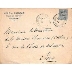 CONSTANTINOPLE-PERA POSTE - FRANCse