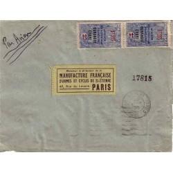 1935 Affranchissement 2 f....