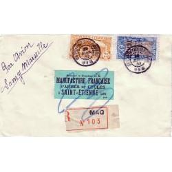 MAO OUBANGUI-CHARI-TCHAD 1937