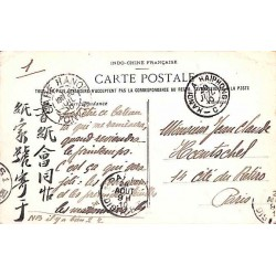 GARE HANOI TONKIN et  HANOI A HAIPHONG - C - 1910