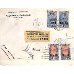 1935 Lettre 4 f. 50...