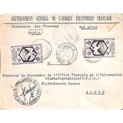 1944 Lettre de service officiel