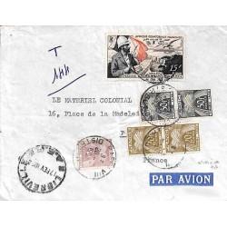 1952 Lettre avec AEF PA 55...