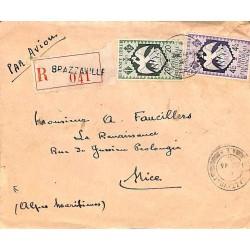 1946 Lettre à 4 f. 20 de...