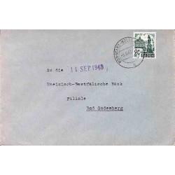 1949 Lettre 24 pf....
