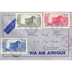 1939 lettre timbre Bastille