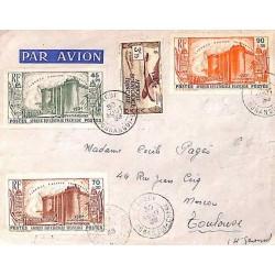 1939 Lettre avion à 5 f 80...