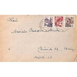 1949 Lettre pour la Suisse...