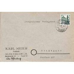 1948 Lettre 24 pf...