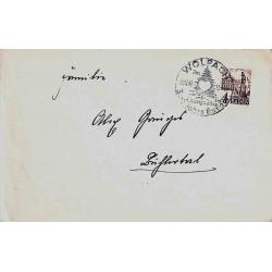 1948 Lettre timbre à date...