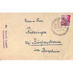1949 Lettre GERNSBACH (MURGTAL)