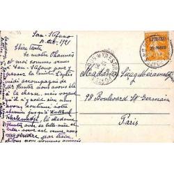 1921 Carte postale Levant...